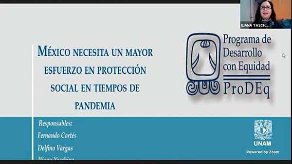 Protección social en México es insuficiente: especialistas