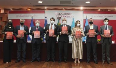 Entrega oficial del Plan de Desarrollo Integral a El Salvador, Guatemala, Honduras y México por parte de la Cepal