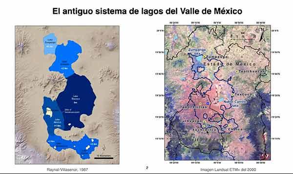 Lagos regulaban clima de la capital mexicana