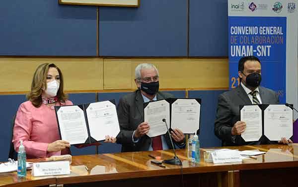 La UNAM y el SNT consolidan esfuerzos en favor del acceso a la información y la rendición de cuentas