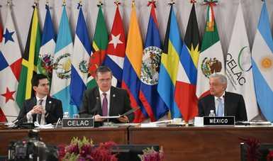 Firma del Convenio Constitutivo de la Agencia Latinoamericana y Caribeña del Espacio