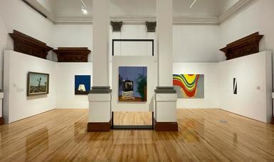 Dexter Dalwood presenta ocho obras y una intervención con la muestra Esto no me pertenece en el Museo Nacional de Arte
