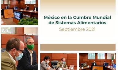 México fija postura de cara a la Cumbre sobre Sistemas Alimentarios de la ONU