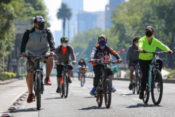 El póximo domingo rueda con tu familia en el Ciclotón Ciudad México