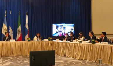 Presenta México visión regional sobre migración y acciones humanitarias para Haití con cancilleres de EE.UU. y países centroamericanos