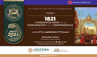 El INHERM conmemora la consumación de la Independencia de México
