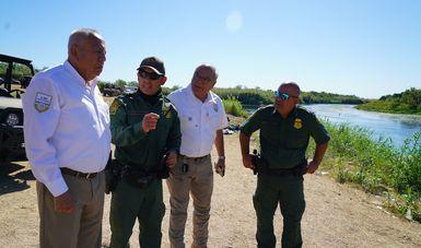 Se reúne comisionado del INM con autoridades de Coahuila y Estados Unidos