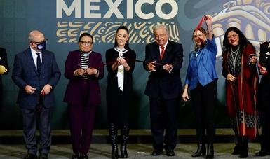 """Abre al público la exposición dual """"La Grandeza de México"""""""