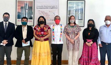 El INALI realizó la inauguración de la Jornada Nacional por la Reconstrucción Lingüística de México