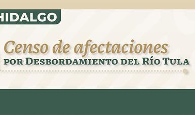 Bienestar inicia mañana censo en 12 municipios de Hidalgo para identificar daños por desbordamiento del río Tula
