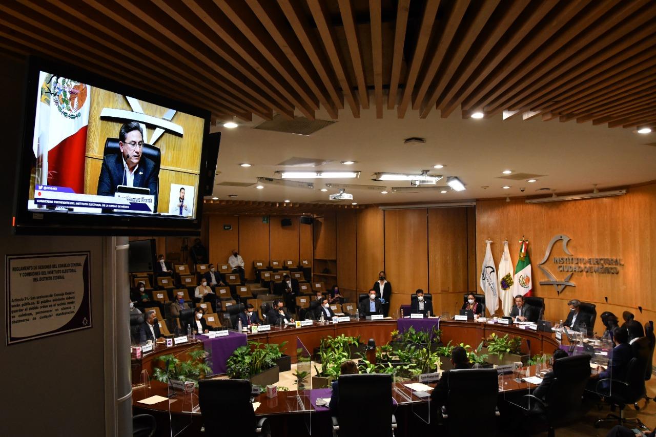 Ofrece C.P Mario Velázquez Miranda logros al frente del IECM, durante 7 años de gestión