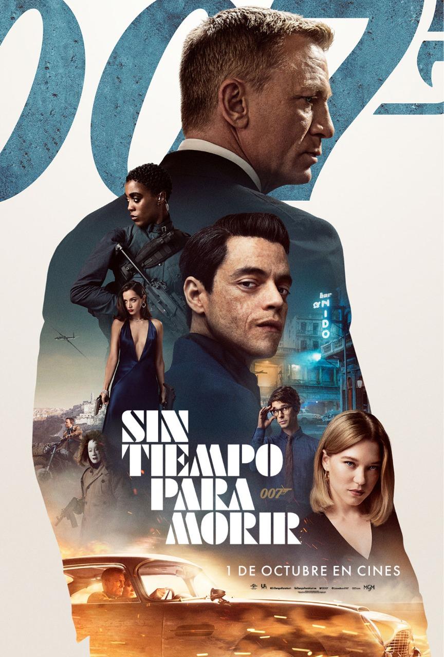"""El Film de la Semana """"Sin tiempo para morir"""", el fin de una saga de James Bond"""