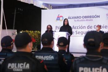 Lía Limón toma las riendas de la Seguridad Pública en Álvaro Obregón