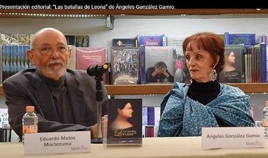 Presentan libro sobre las batallas que libró Leona Vicario