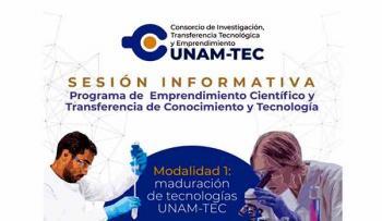 UNAM y TEC de Monterrey conjuntan capacidades para impulsar proyectos de emprendimiento