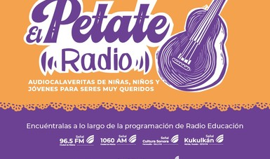 """Alas y raíces invita a escuchar las voces de niñas, niños y jóvenes en la serie """"Petate radio"""""""