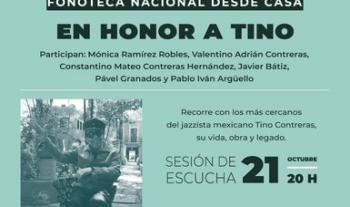 Fonoteca Nacional rendirá homenaje al jazzista Tino Contreras