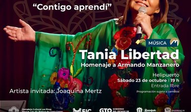 Un sábado musical con Tania Libertad y La Reyna y la Real, lo imperdible de la cartelera cultural de este fin de semana