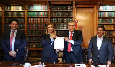 Gobernación y estado de Chihuahua firman acuerdo para resolución de conflicto en presa La Boquilla