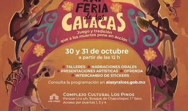 Memoria y tradición en familia con la XXI Feria de las calacas, de Alas y Raíces