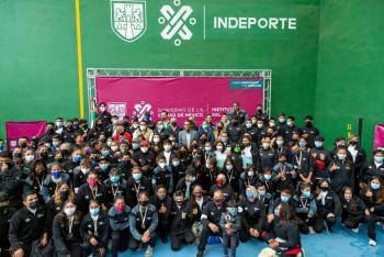 El deporte provee salud y genera tejido social entre nuestras comunidades: Javier Hidalgo