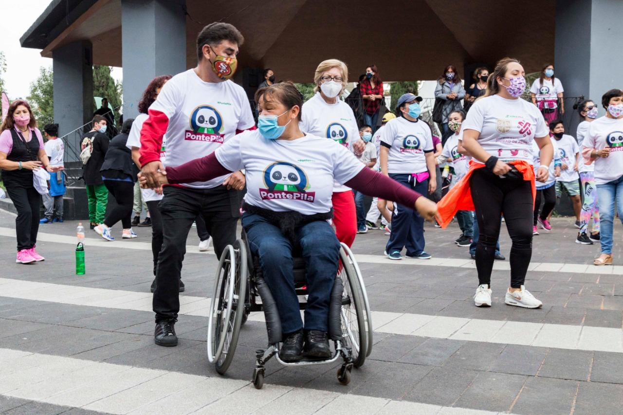 Activación y alegría en la Alameda Sur, con el Maratón de Baile Aeróbico y de Parejas