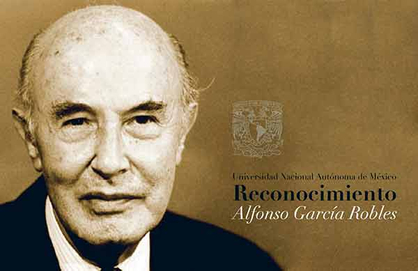 Ganadores del Reconocimiento Alfonso García Robles 2021