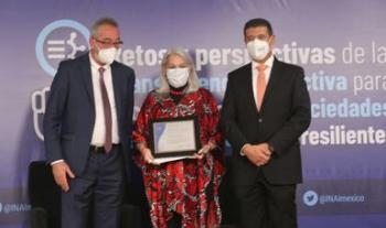 Recibe programa Héroes Paisanos del INM reconocimiento por transparencia proactiva