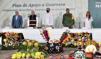 En Chilpancingo, Ejecutivo federal encabeza presentación de plan de apoyo a Guerrero