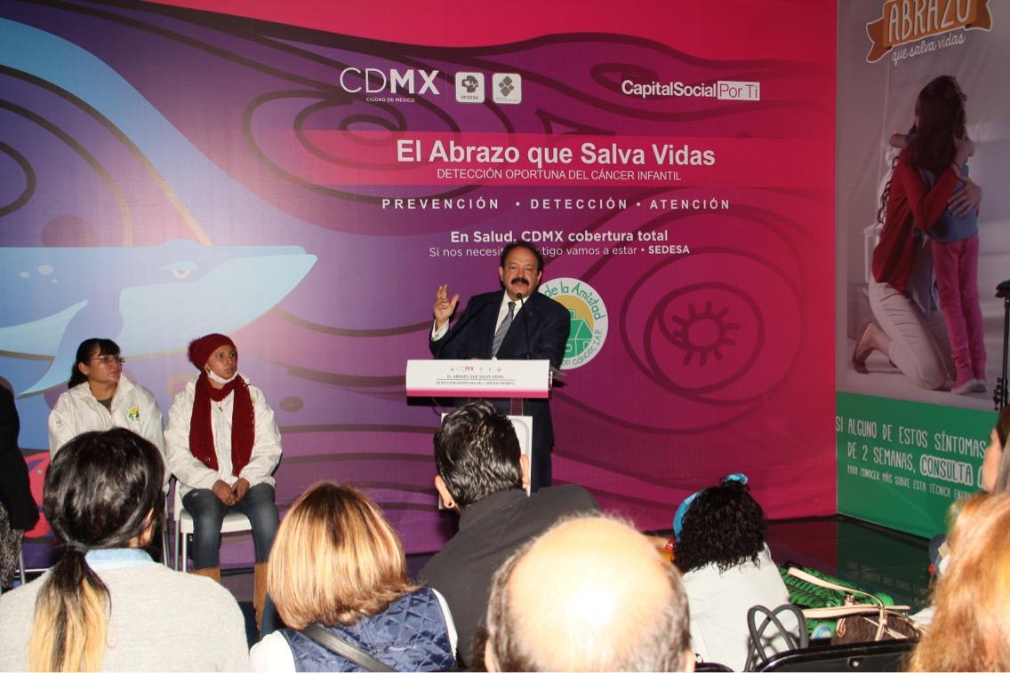 Inicia en CDMX campaña