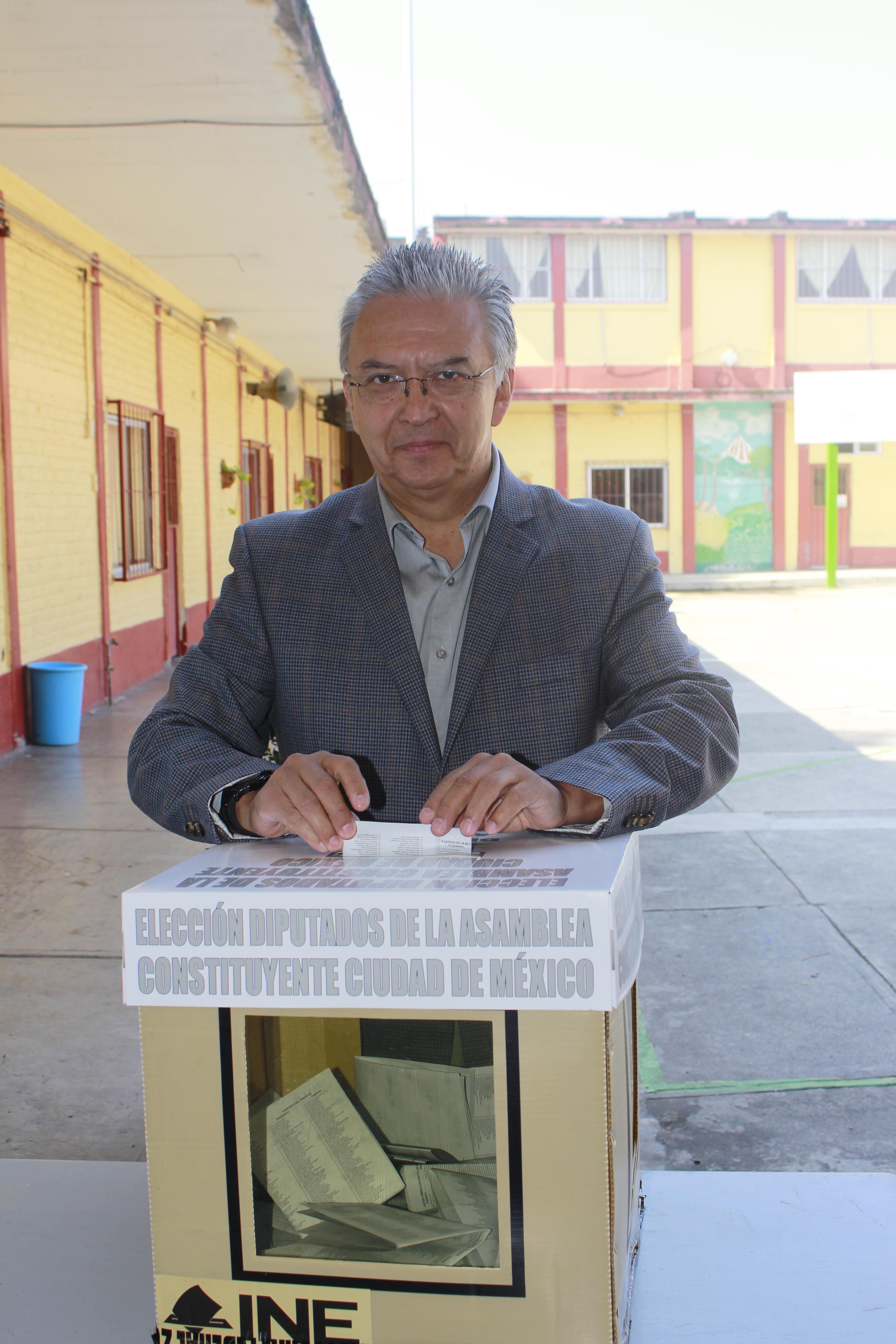 """LA ELECCIÃ""""N DE LA ASAMBLEA CONSTITUYENTE ABRE NUEVA ETAPA PARA CONSOLIDAR LA DEMOCRACIA EN CDMX"""