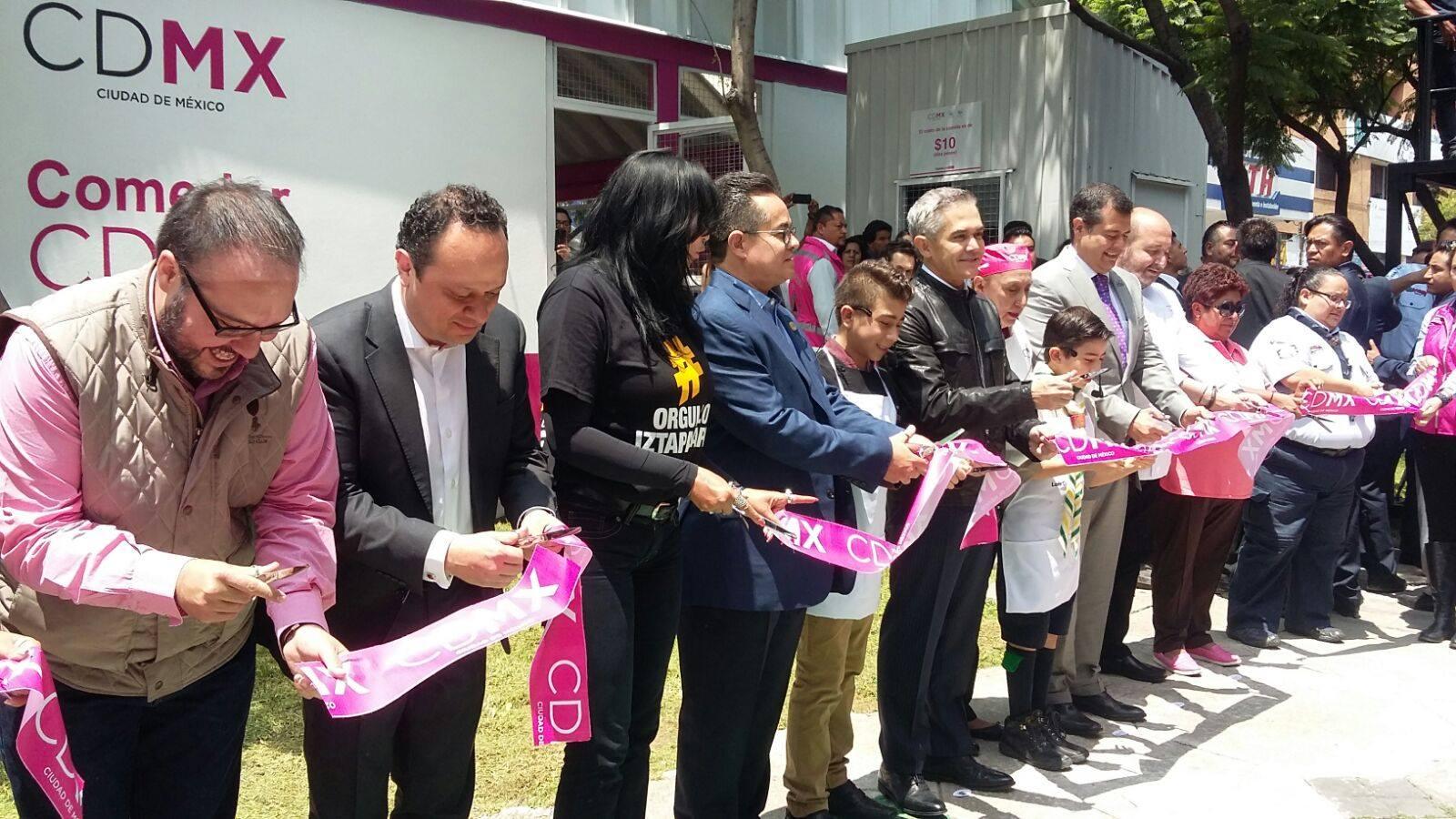 Inauguración del Comedor CDMX Central de Abasto