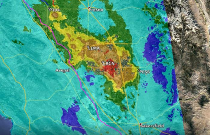 La NASA confirma que California se está hundiendo.