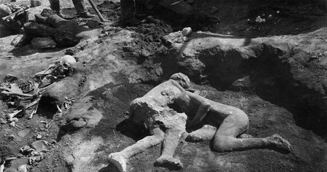 Científicos descubren que los Amantes de Pompeya eran dos hombres.