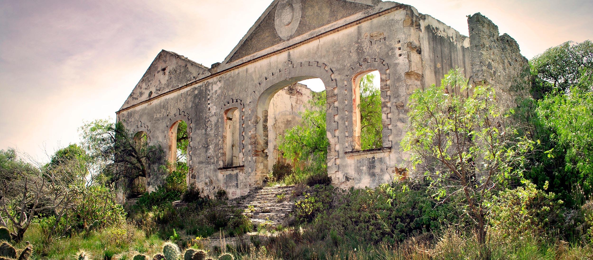 La Ruta de México, el Pueblo Mágico de Mineral de Pozos, Guanajuato