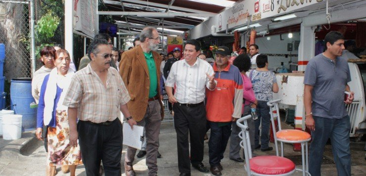 Revisa Azcapotzalco Condiciones En Que Operan Mercados Públicos Y Concentraciones