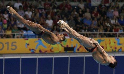 Rommel Pacheco y Jahir Ocampo, octavos del mundo en trampolín de 3 metros