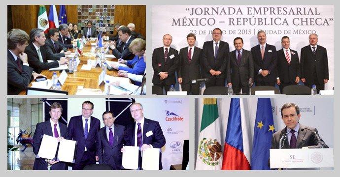ACERCAMIENTO ENTRE MÉXICO Y LA REPÚBLICA CHECA PARA FOMENTAR VÍNCULOS ECONÓMICOS