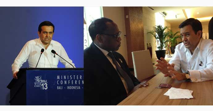 Sostiene Guajardo Villarreal reuniones bilaterales en Bali, Indonesia
