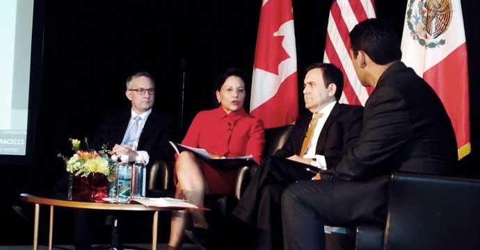 Reunión de Ministros de Economía y Comercio de México, EU y Canadá