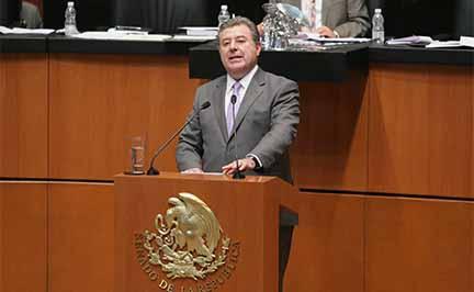 La inflación dificulta crecimiento del país: senador Búrquez Valenzuela.