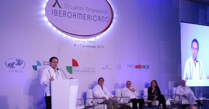 INAUGURAN X ENCUENTRO EMPRESARIAL IBEROAMERICANO