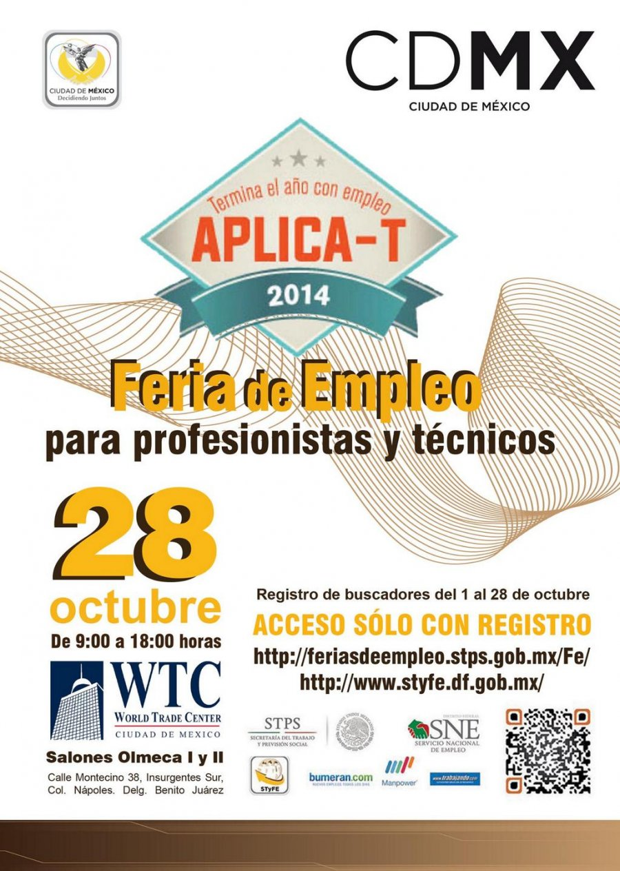 Feria para profesionistas y técnicos a€œAplica-Ta€