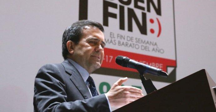 PRESIDE ILDEFONSO GUAJARDO VILLARREAL SORTEO DE EL BUEN FIN