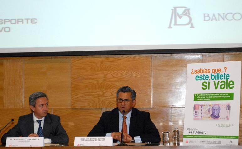 BANXICO Y EL STC FIRMAN CONVENIO DE COLABORACIÓN