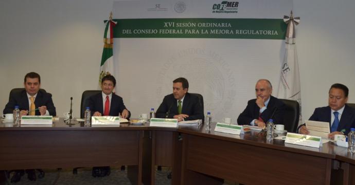 PRESENTAN ESTRATEGIA INTEGRAL DE MEJORA REGULATORIA DEL GOBIERNO DE LA REPÚBLICA