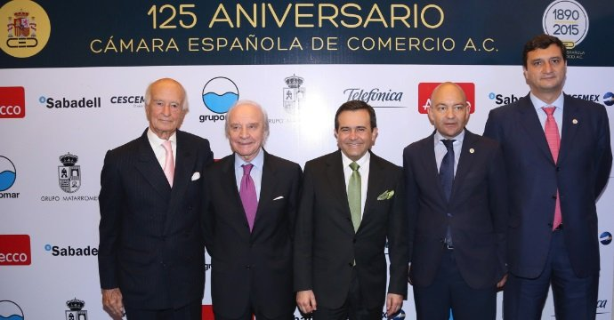 ASISTE ILDEFONSO GUAJARDO AL 125 ANIVERSARIO DE LA CÁMARA ESPAÑOLA DE COMERCIO
