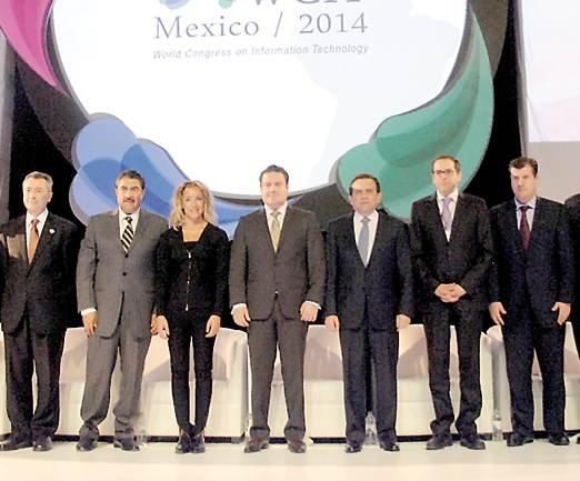INAUGURÓ EL SECRETARIO DE ECONOMIA LA 19Aa EDICIÓN DEL CONGRESO MUNDIAL DE TECNOLOGIAS DE LA INFORMACIÓN 2014