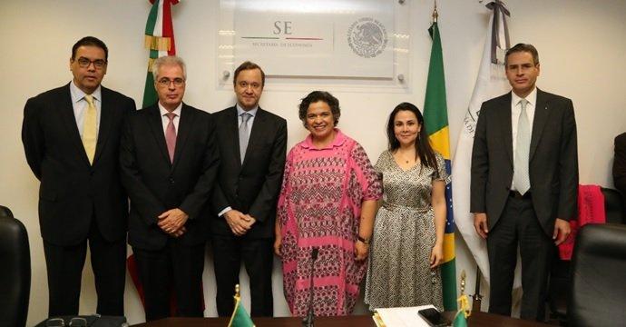 Concluye Primera Ronda de Negociaciones entre México y Brasil