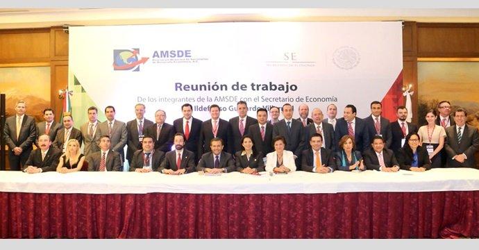 El Secretario de Economía se reunió con integrantes de la AMSDE